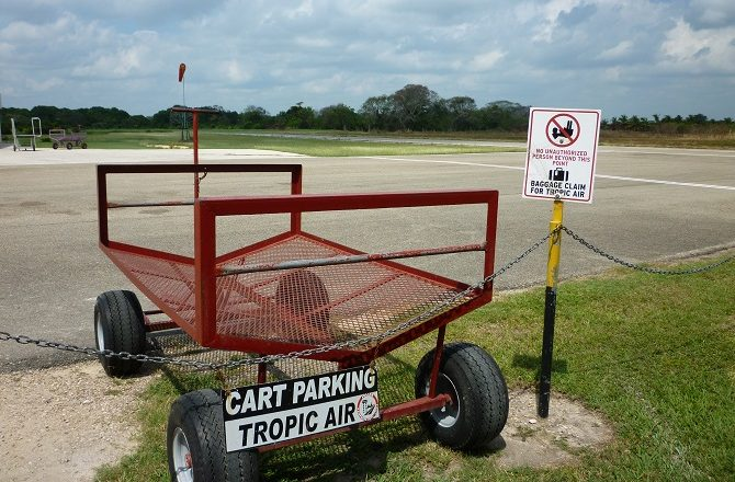Corozal Airport in Belize