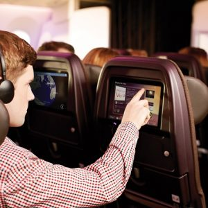 Virgin Atlantic Vera inflight entertainment system