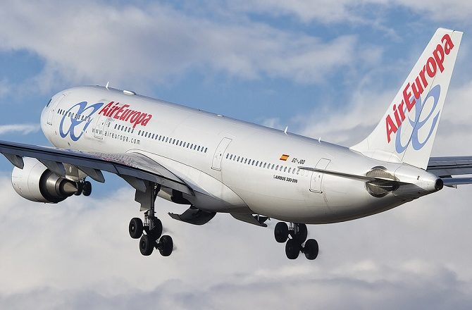 Air Europa fly daily from Madrid to Havana using the A330