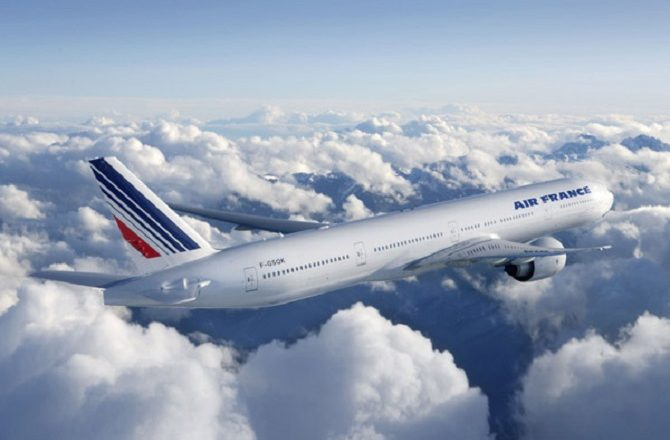 Air France fly Boeing 777 to Havana from Paris