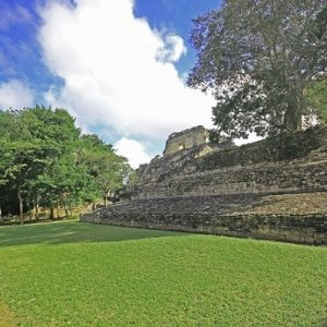 The Becan Mayan ruins in the Yucatan Peninsula