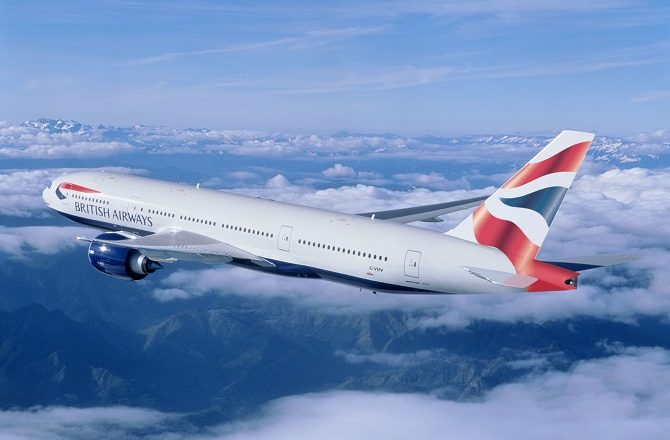 British Airways fly from London Gatwick to Cancun