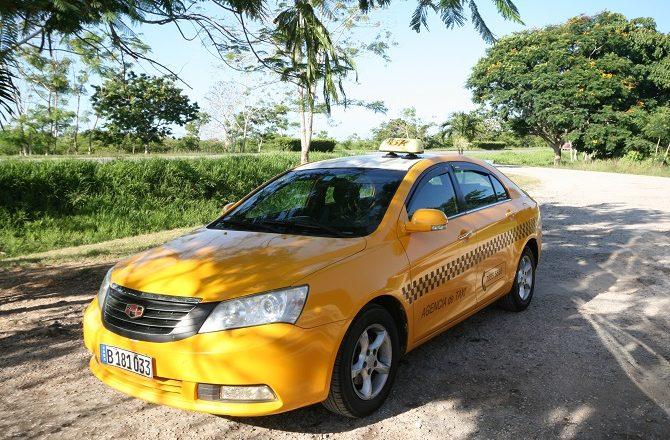 A taxi in Cuba