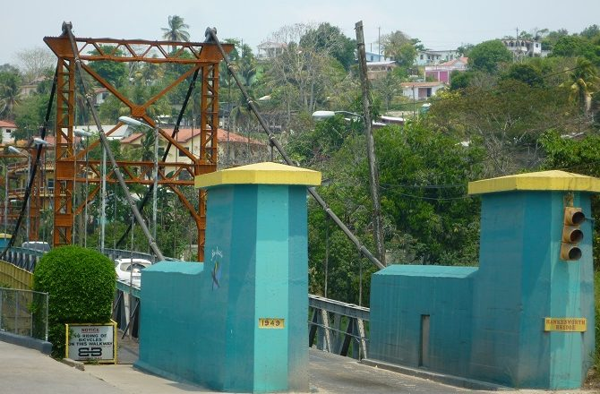 The Hawkesworth Bridge in San Ignacio, Belize