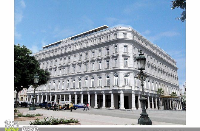The Kempinski Manzana de Gomez hotel in Havana, Cuba