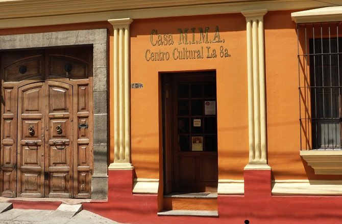 Casa Mima cultural centre in Guatemala City