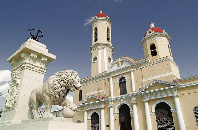 Cienfuegos is a popular destination on tours of Cuba
