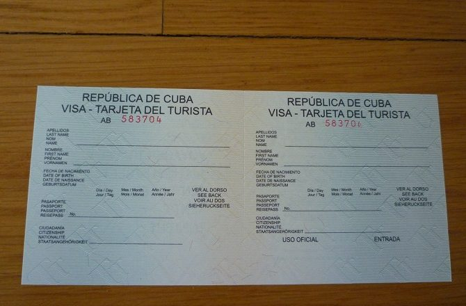 The Cuban Consulate has provided new clarification regarding the issue of Tourist Cards