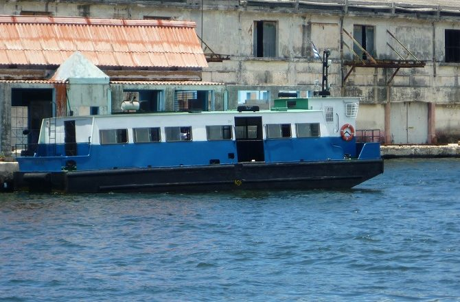 The Havana ferry