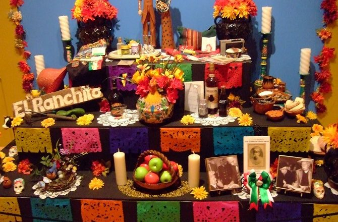 Ofrendas are an integral part of Day of the Deal celebrations in Mexico