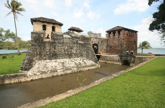 The Castillo de San Felipe at the end of Rio Dulce