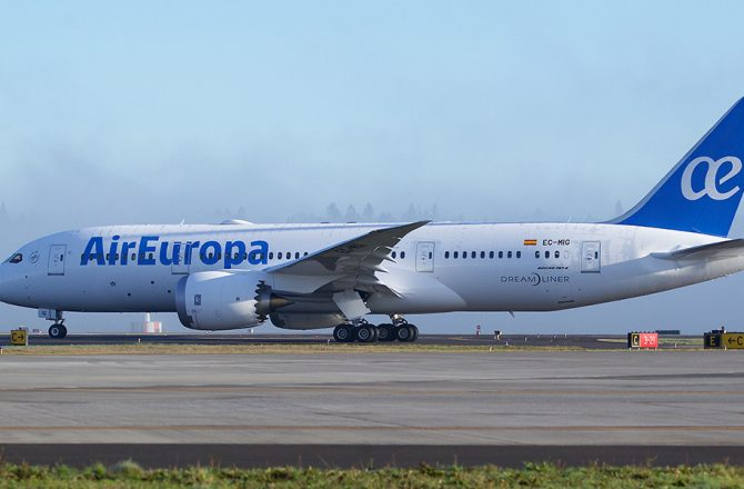 Air Europa will operate the Dreamliner to Havana from 15th March 2017