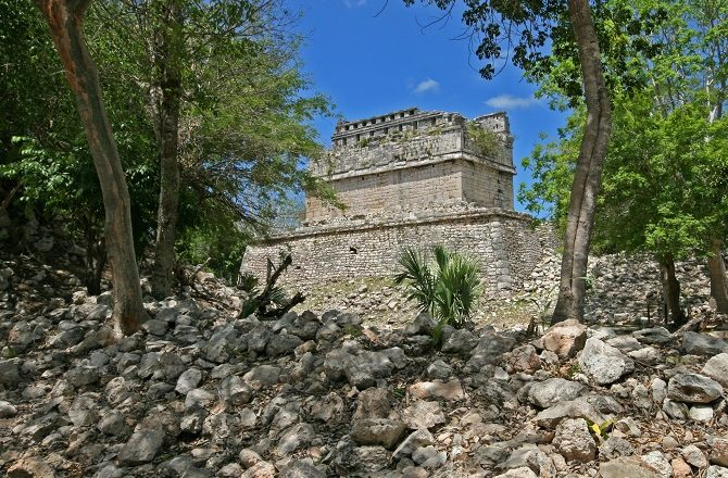 The Mayan ruins of the Yucatan Peninsula can easily be combined with Havana