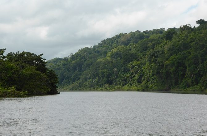 The Pasion River in Guatemala