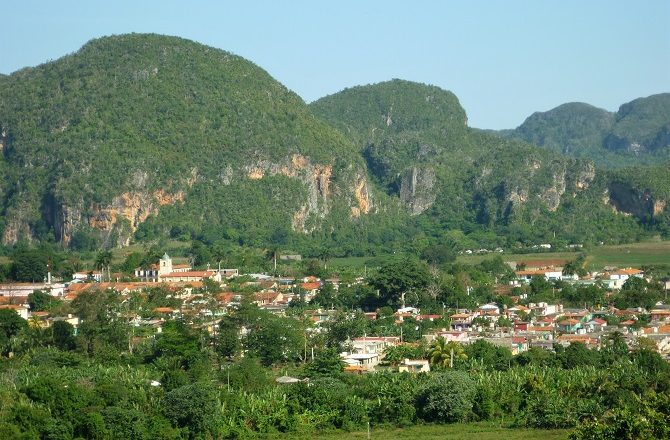 The Vinales Valley is one of 2 Natural UNESCO World Heritage sites in Cuba