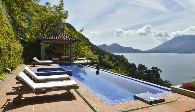 Casa Polopo at Lake Atitlan is one of many hotels with its own helipad