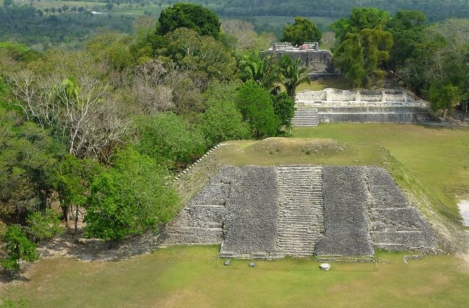 Xunantunich is located near San Ignacio in Belize