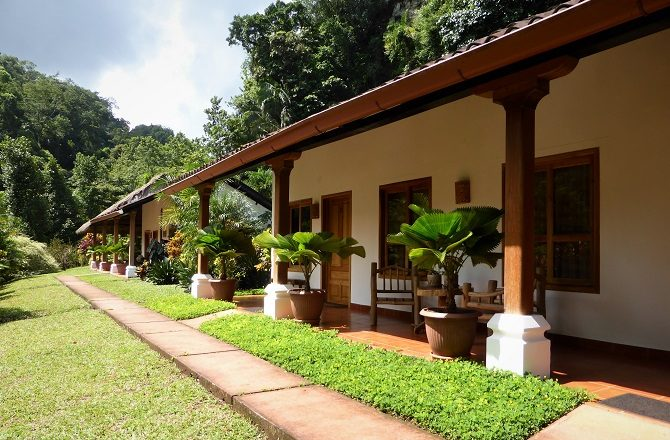 Candelaria Lodge, en-route from Flores to Guatemala City