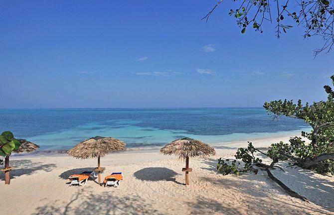 Guardalavaca beach in eastern Cuba