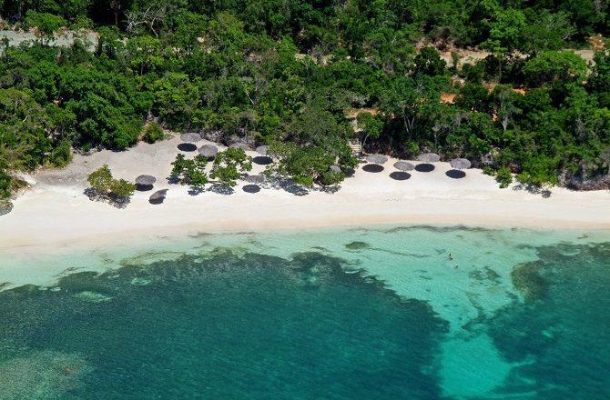 The beach at Paradisus Rio de Oro in eastern Cuba