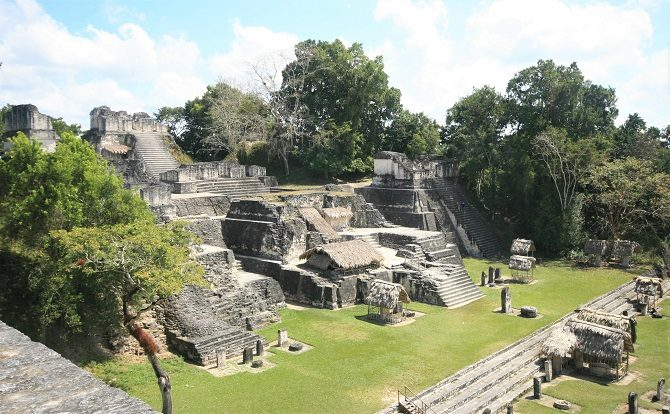 The Mayan site of Tikal in Guatemala