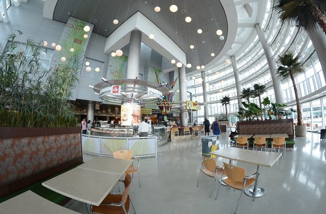 Miami Airport foodcourt