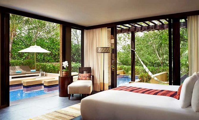 The Banyan Tree Mayakoba in Yucatan Mexico