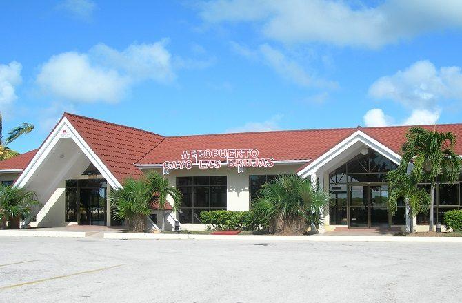 Cayo Las Brujas airport in Cuba