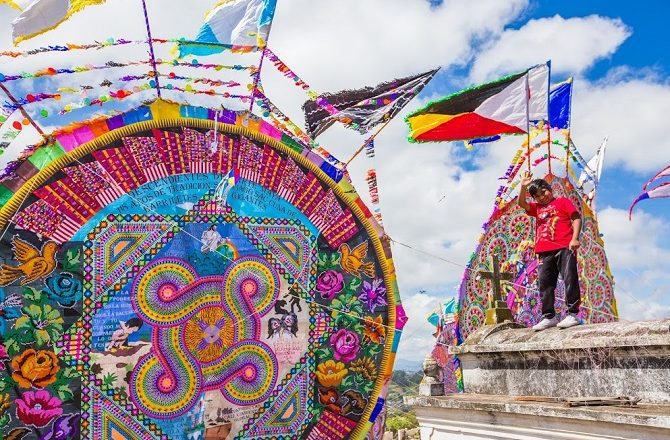 Guatemala Tour Kites Culture & Traditions
