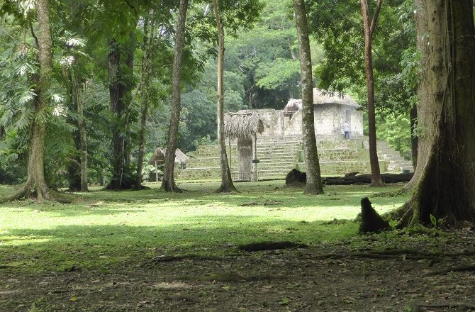 Ceibal is an ancient Mayan city in Peten Guatemala