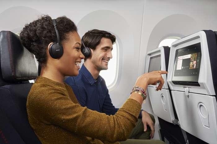 Air france Economy Couple