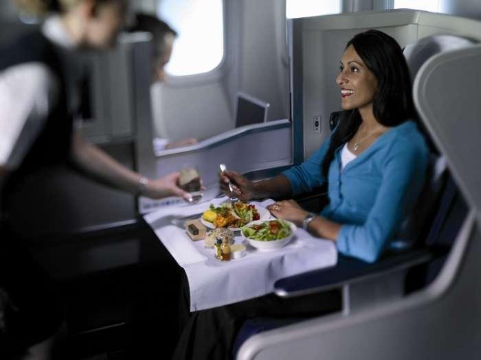 British airways Club world passenger