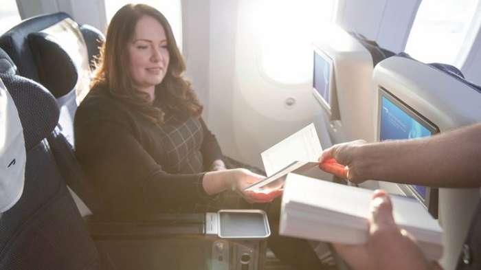 British airways World traveller plus Passenger