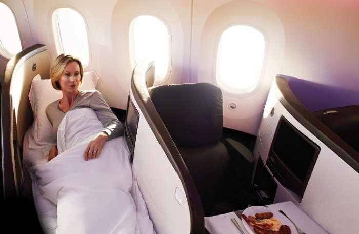 Virgin atlantic Upper class Passenger