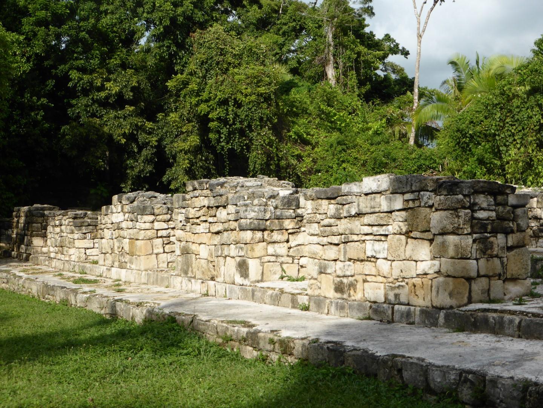 Mayan ruins at Aguateca, Guatemala