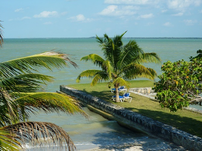 The Almond Tree resort in Corozal, near the Belize Mexico border