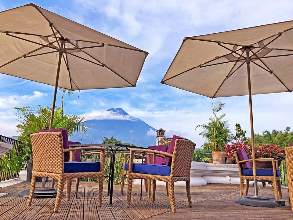 Accommodation in Antigua, Guatemala