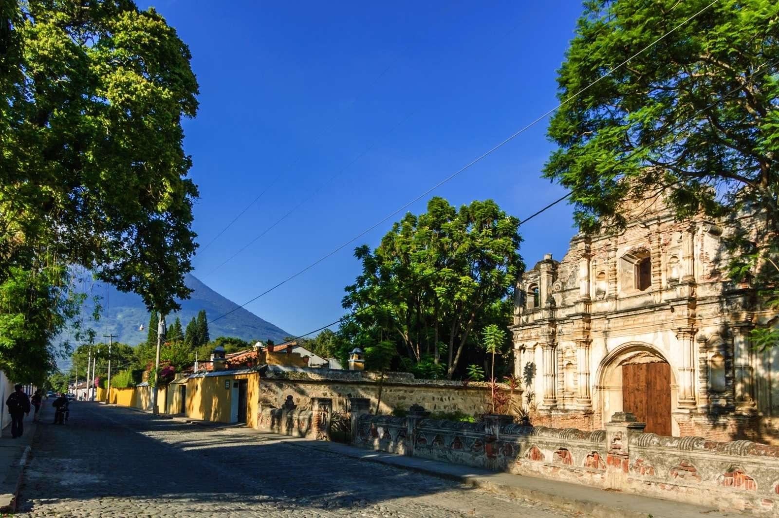 San Jose El Viejo Ruins, Antigua, Guatemala
