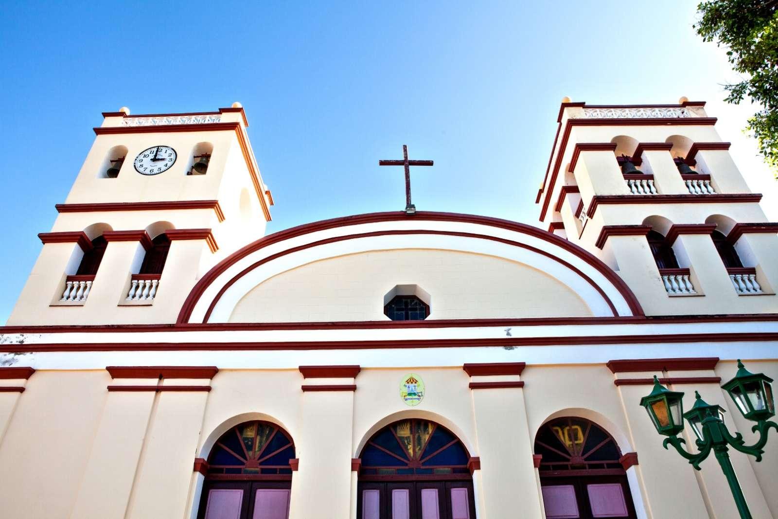 Catedral De Nuestra Senora De La Asuncion in Baracoa The Central Plaza