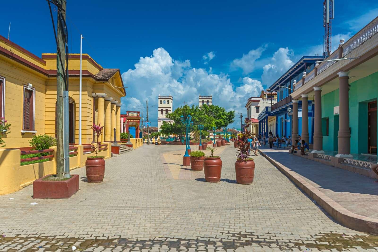 Main square in Baracoa, Cuba