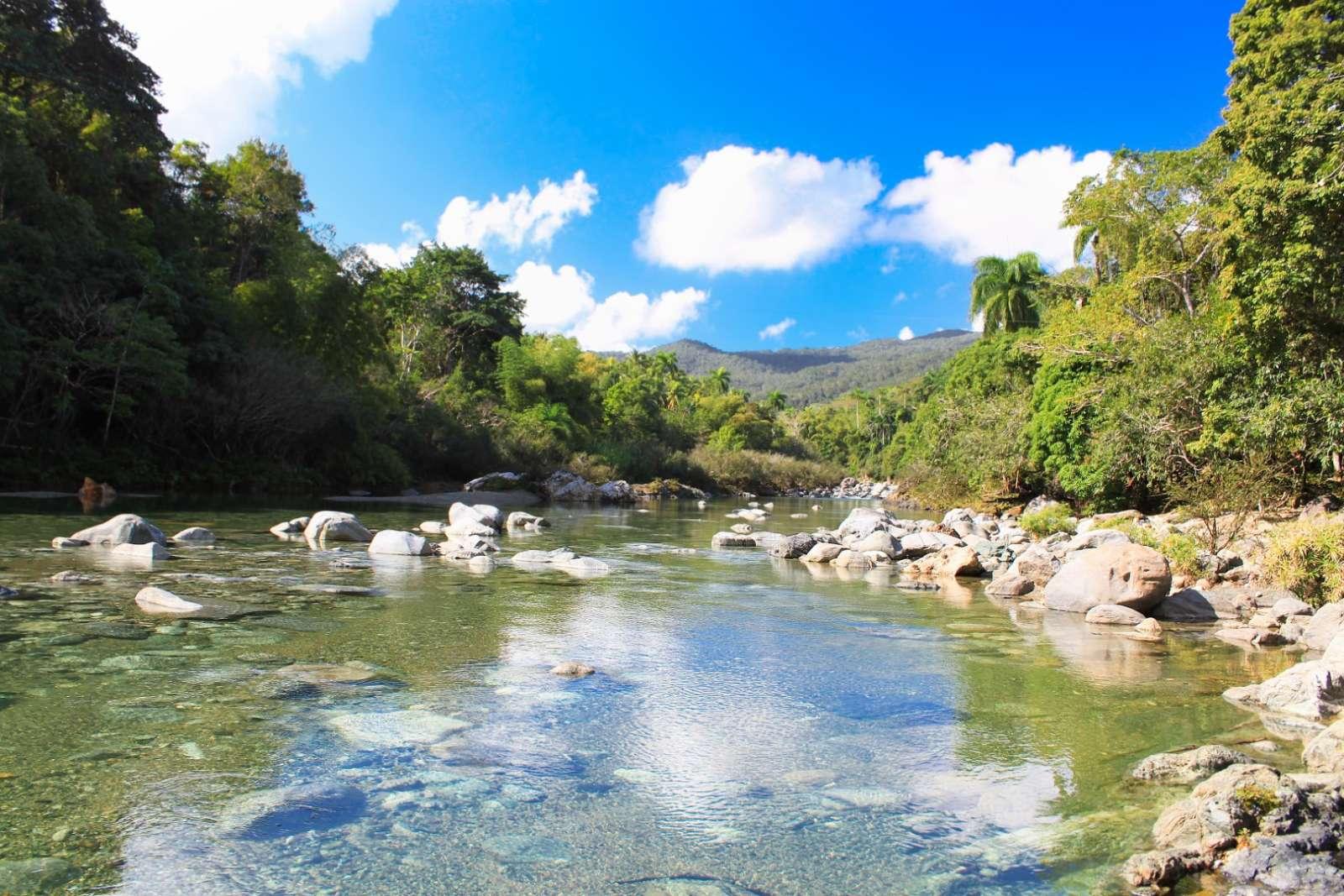 Rio Toa in Baracoa Cuba