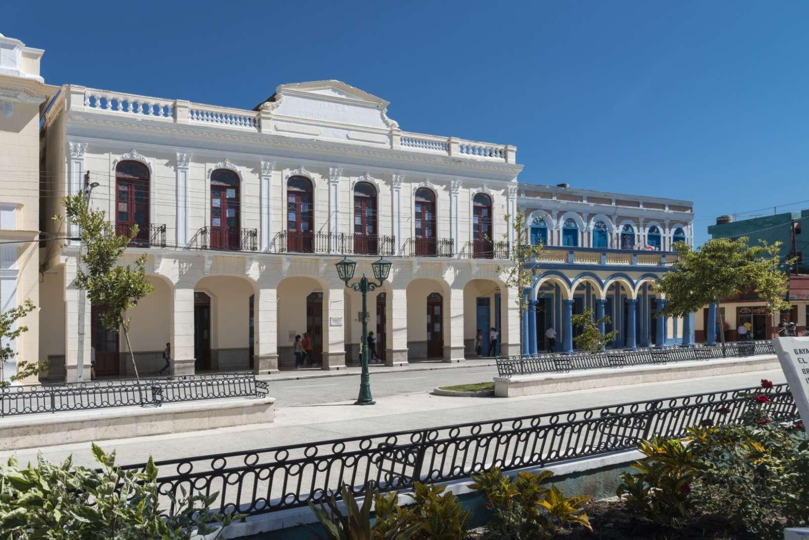 Colonial architecture in Bayamo, Cuba