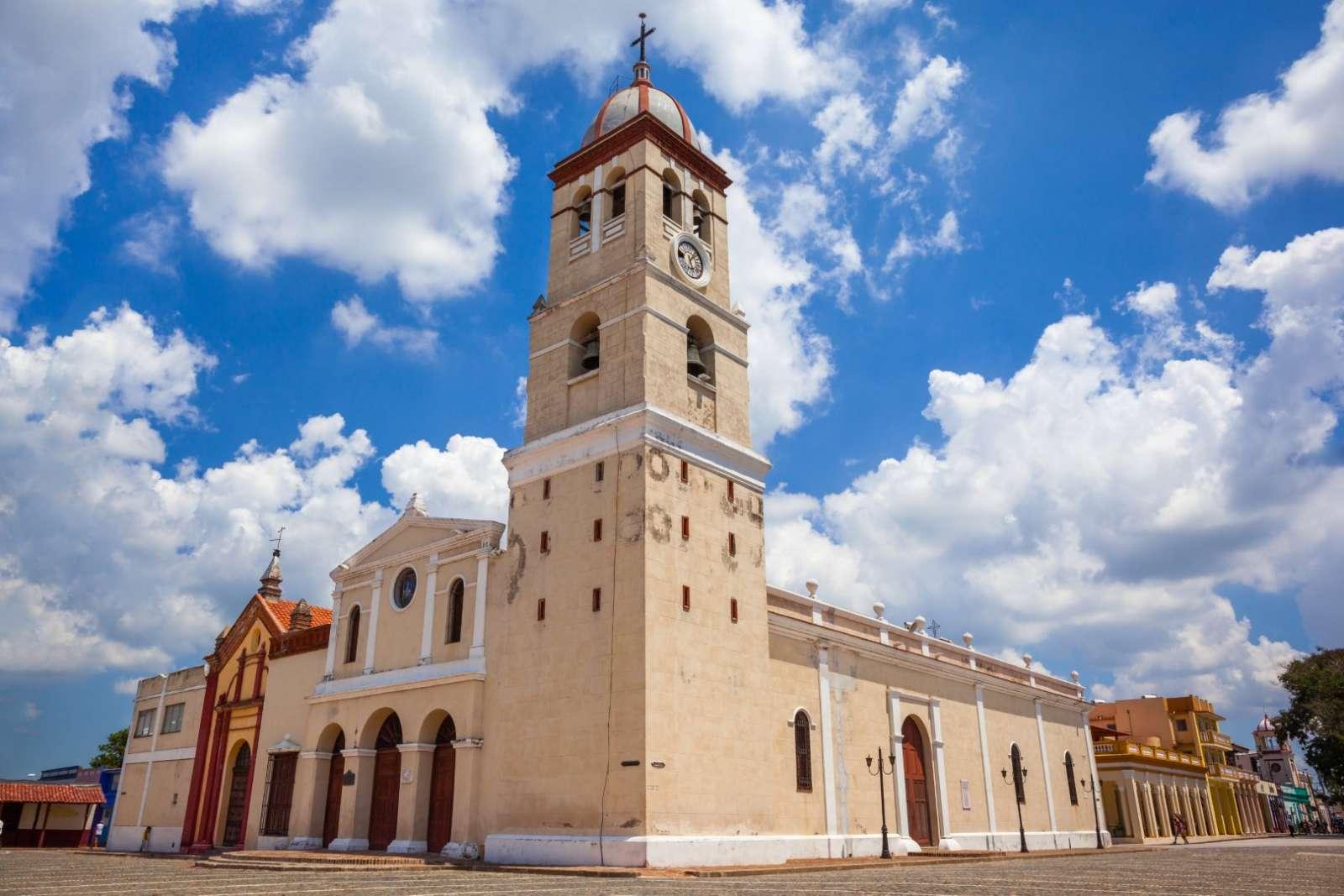 Exterior of church in Bayamo Cuba