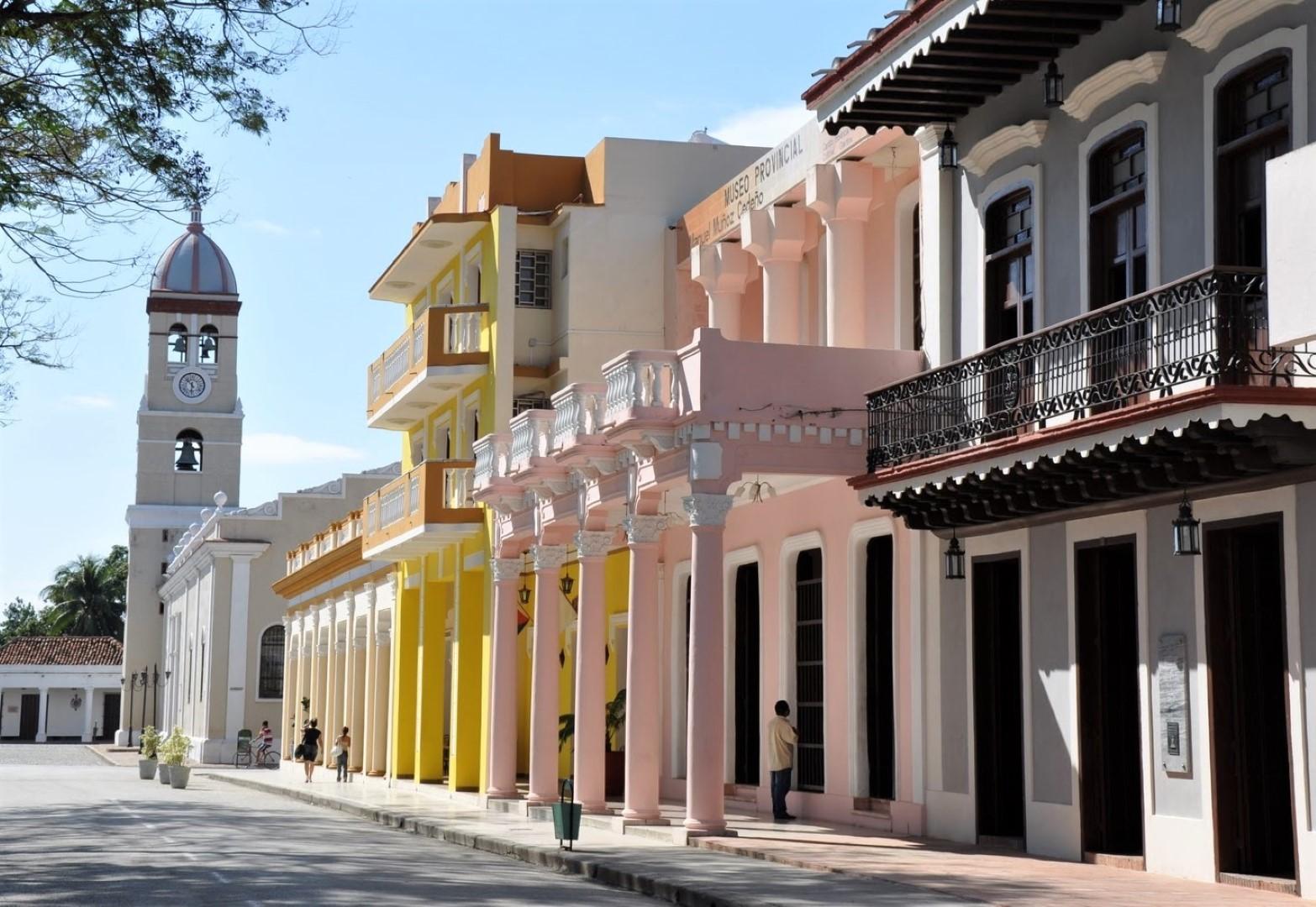 The main street in Bayamo Cuba
