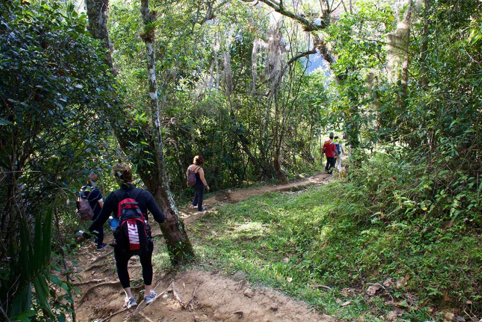 Trekking in the Sierra Maestra near Bayamo