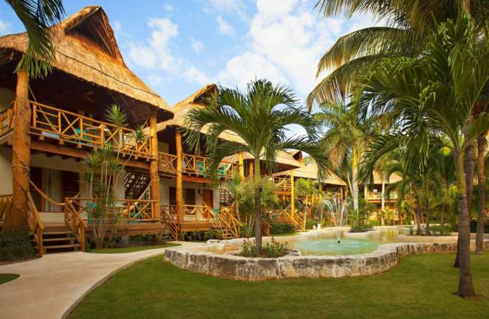 Mahekal beach hotel in Playa del Carmen, Mexico