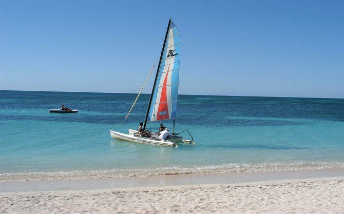 Catamaran in Trinidad, Cuba