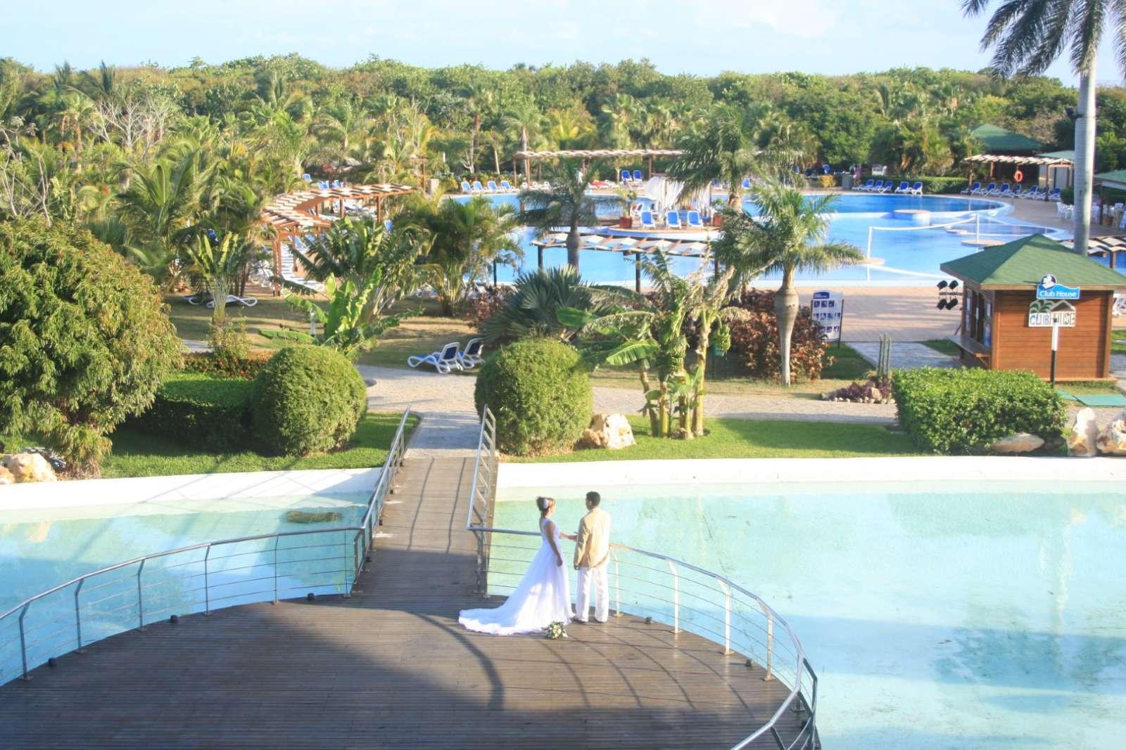 Swimming pool at Blau Varadero