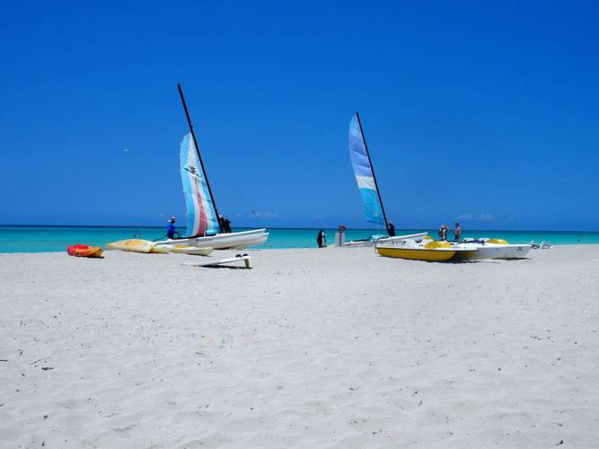 Watersports and beach at Blau Varadero