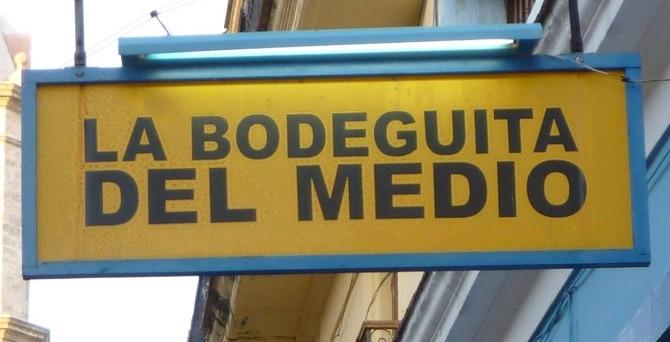 Bodeguita Del Medio sign Havana